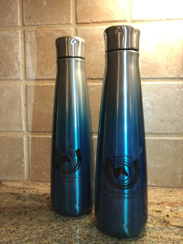 front range exceptional equestrians water bottles
